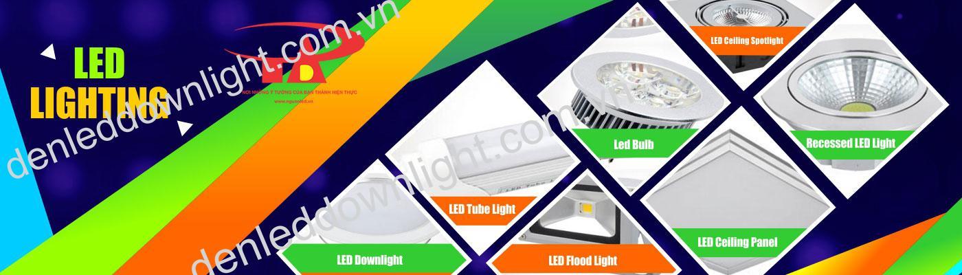 phân phối đèn led chiếu sáng dân dụng và công trình An Đức Phát