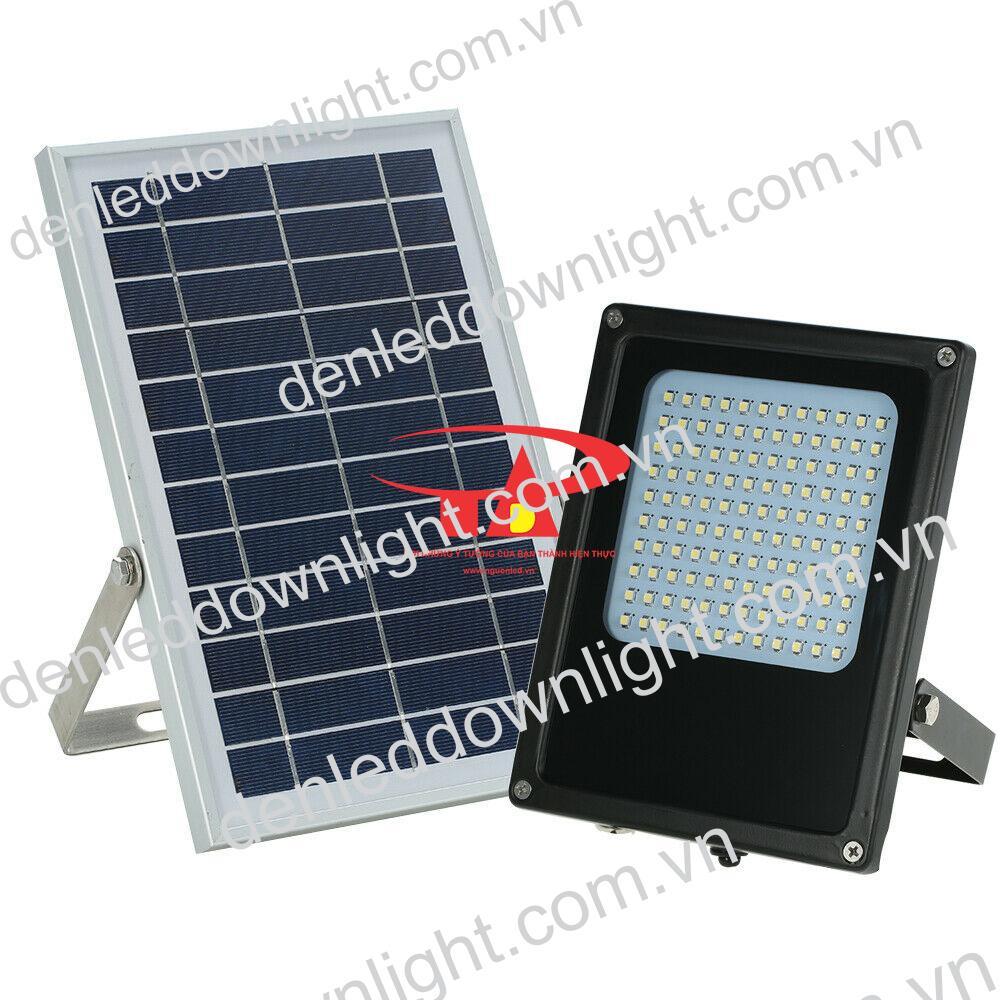 đèn pha năng lượng mặt trời 120 LED giá rẻ