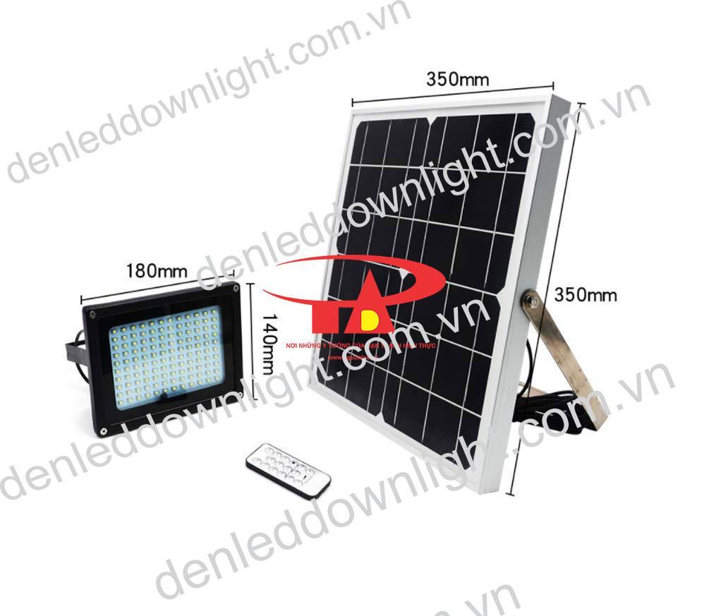 đèn pha năng lượng mặt trời 120 LED loại tốt