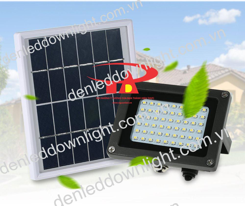 đèn pha năng lượng mặt trời 120 LED thân thiện môi trường