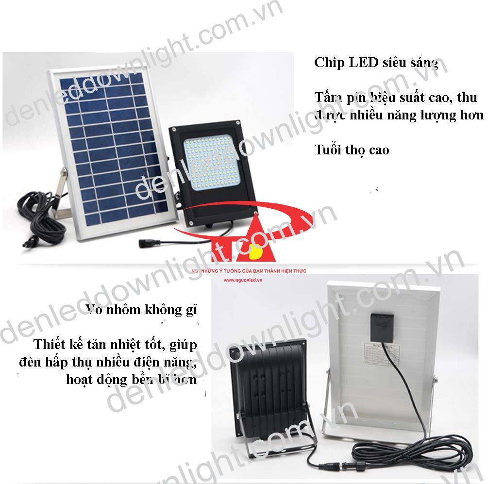 ưu điểm đèn pha năng lượng mặt trời 120 LED