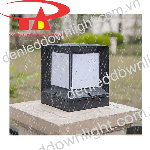 đèn trụ cổng năng lượng mặt trời GDL01 loại tốt, chống thấm nước