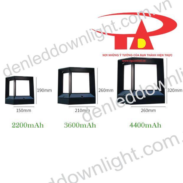 đèn trụ cổng năng lượng mặt trời GDL01 giá rẻ, chiết khấu cao