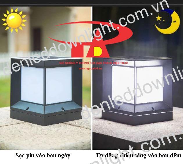 nguyên lý hoạt động của đèn trụ cổng năng lượng mặt trời GDL01
