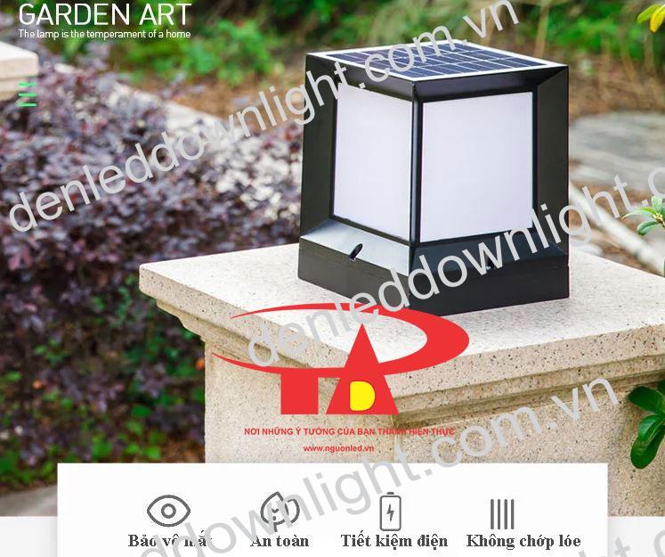 đèn trụ cổng năng lượng mặt trời GDL01 loại tốt, nên mua