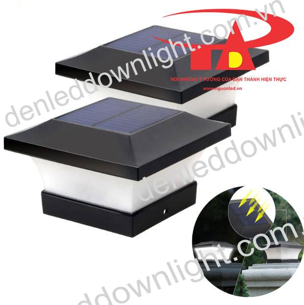 đèn trụ cổng năng lượng mặt trời GDL02 giá rẻ, loại tốt