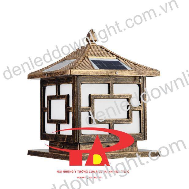 đèn trụ cổng năng lượng mặt trời GDL03 giá rẻ, loại tốt