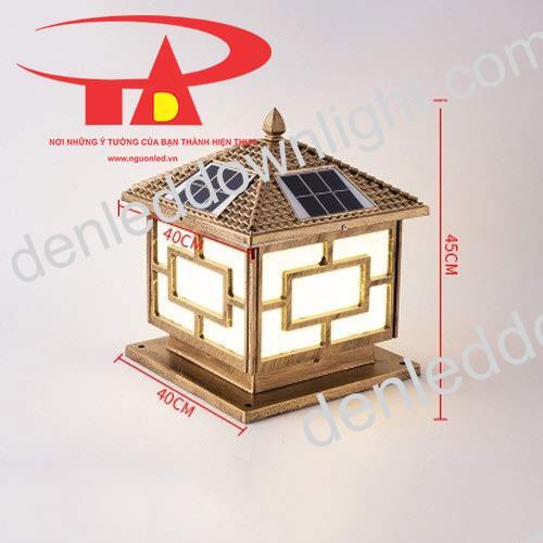 đèn trụ cổng năng lượng mặt trời GDL03 giá rẻ, tiết kiệm điện