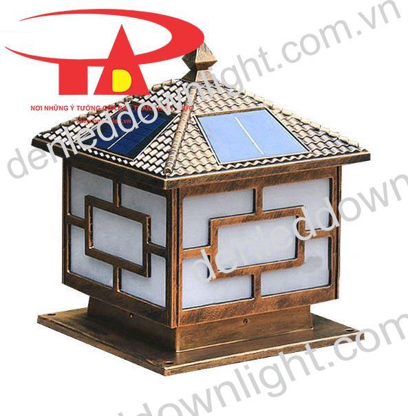 đèn trụ cổng năng lượng mặt trời GDL03 chiết khấu cao, loại tốt