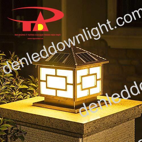 đèn trụ cổng năng lượng mặt trời GDL03 siêu bền, chất lượng cao