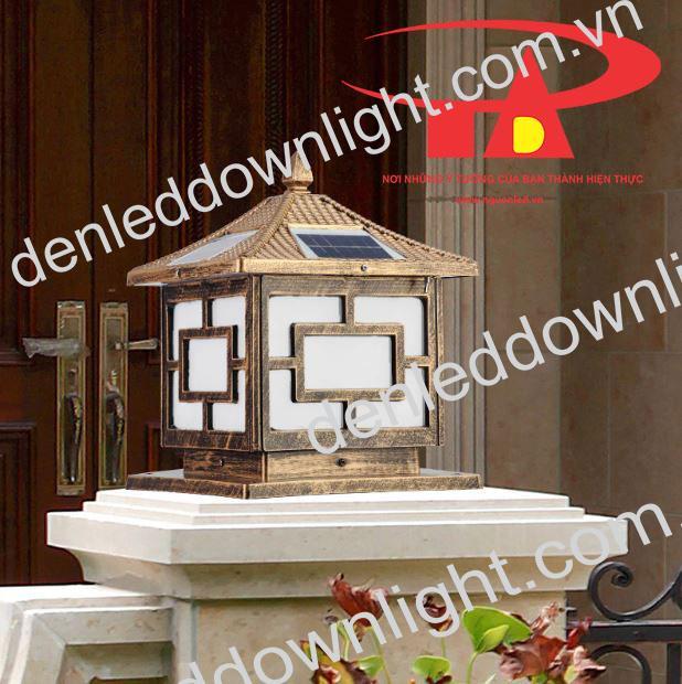 nguyên lý hoạt động đèn trụ cổng năng lượng mặt trời GDL03 giá rẻ