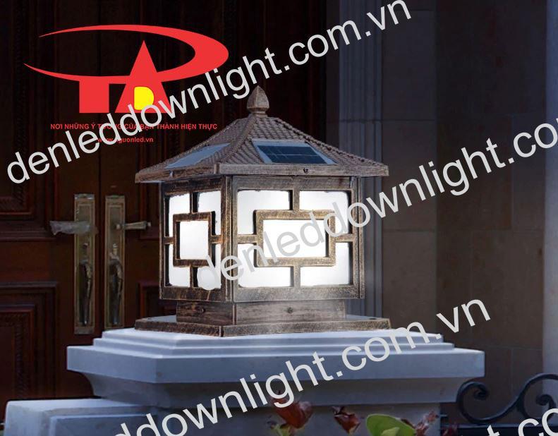 nguyên lý hoạt động của đèn trụ cổng năng lượng mặt trời GDL03 loại tốt