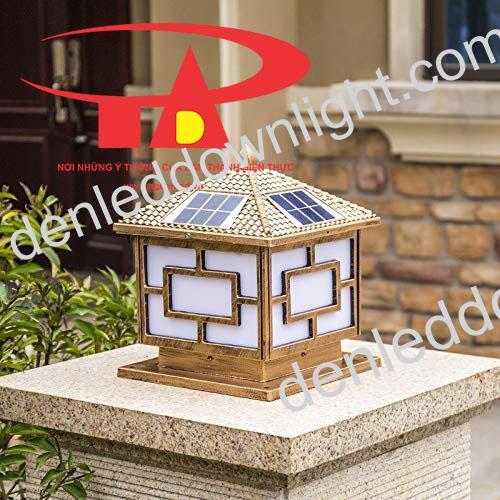 đèn trụ cổng năng lượng mặt trời GDL03 chống thấm nước