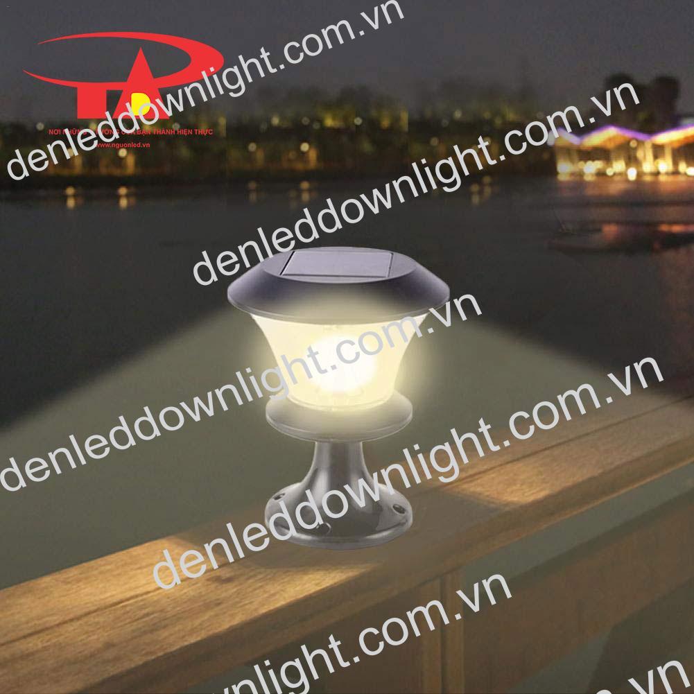 đèn trụ cổng năng lượng mặt trời GDL06 trang trí lối đi