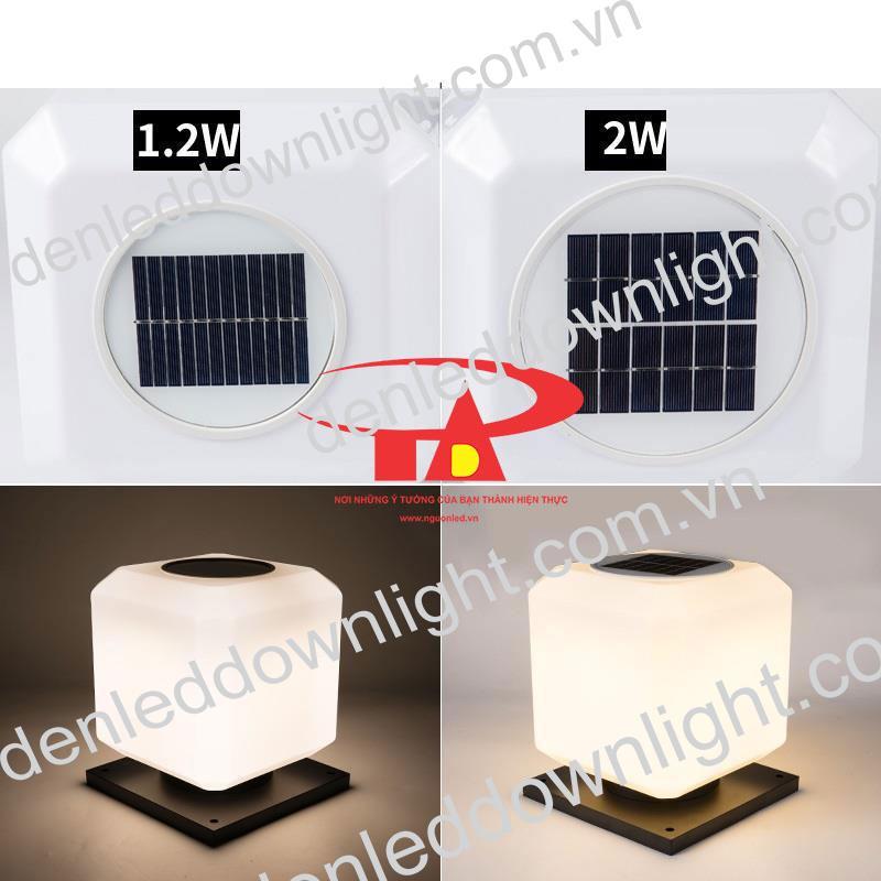 nguyên lý hoạt động đèn trụ cổng năng lượng mặt trời GDL10