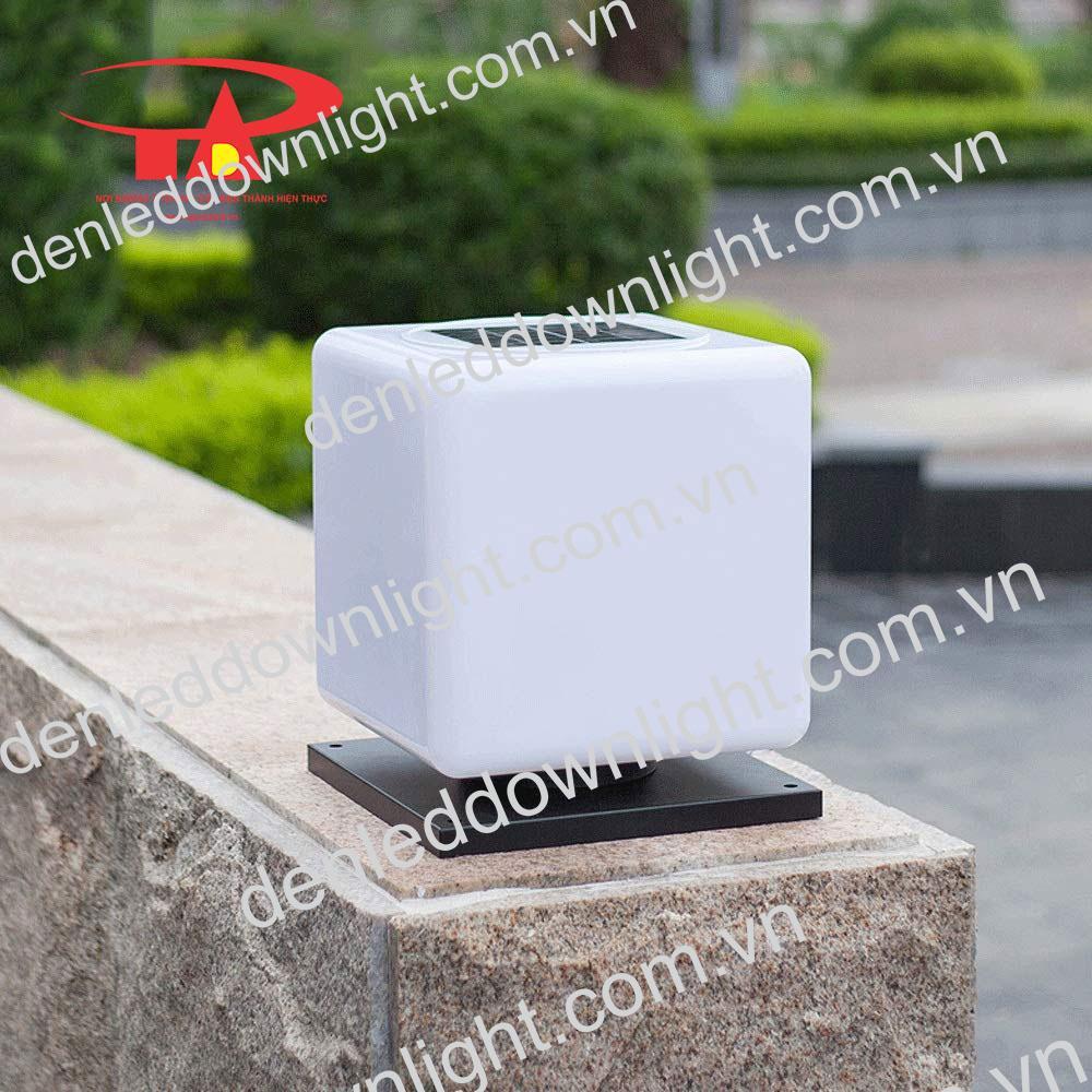 đèn trụ cổng năng lượng mặt trời GDL10 chiếu sáng tường rào