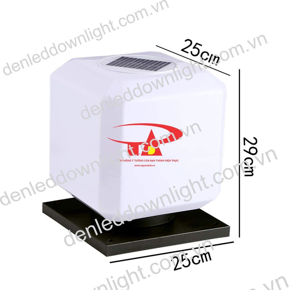 đèn trụ cổng năng lượng mặt trời GDL10 giá rẻ, chiết khấu cao