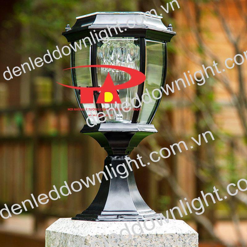 đèn trụ cổng năng lượng mặt trời GDL13 chiếu sáng sân vườn