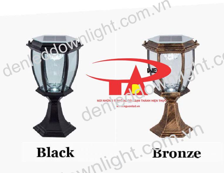 đèn trụ cổng năng lượng mặt trời GDL13 loại tốt, chất lượng cao