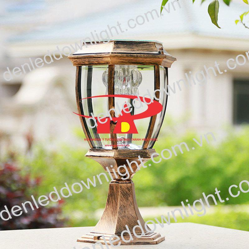 đèn trụ cổng năng lượng mặt trời GDL14 giá rẻ, chiết khấu cao