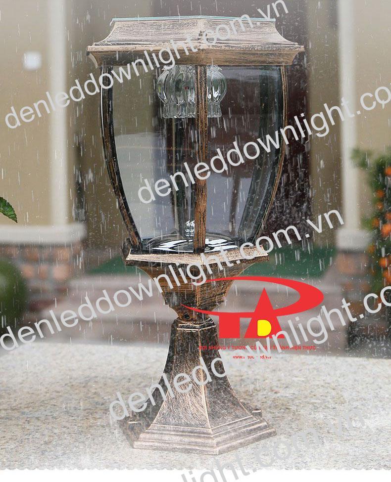 đèn trụ cổng năng lượng mặt trời GDL14 chống thấm nước