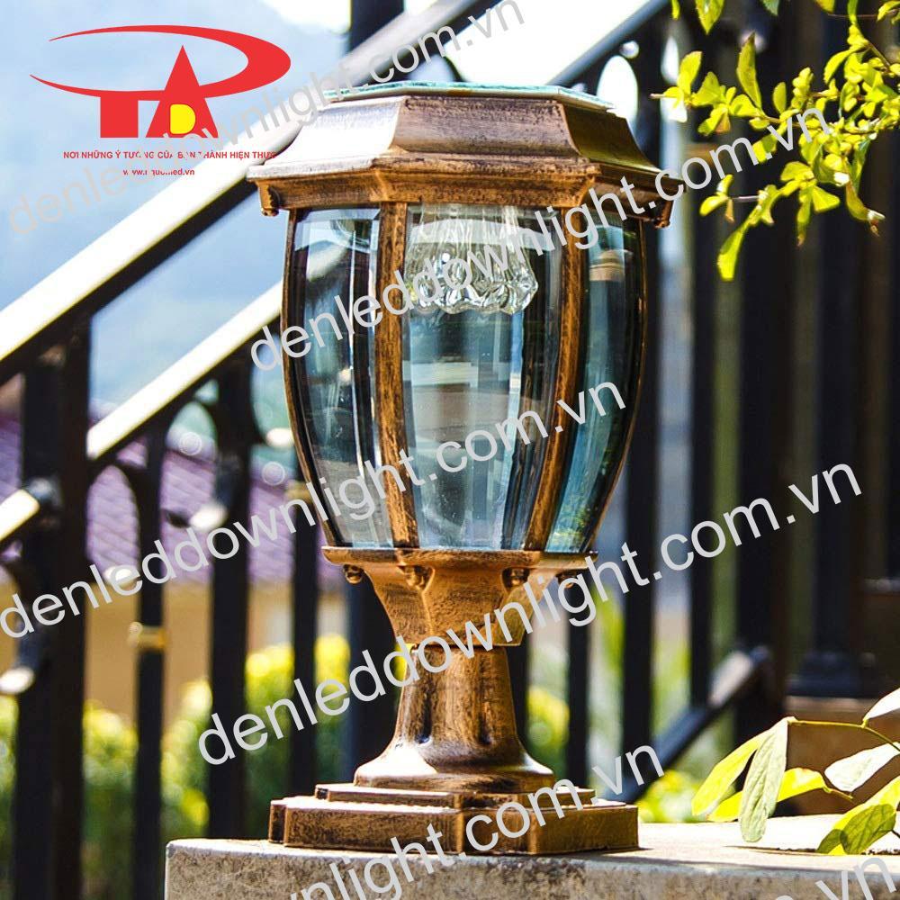 đèn trụ cổng năng lượng mặt trời GDL14 chiết khấu cao, giá rẻ